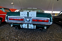 1968 Ford Shelby Mustang GT500 Fastback Replica Rear